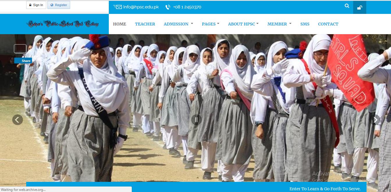 How to Develop School Website in Quetta