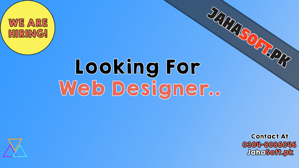 Web Designer Job in Quetta