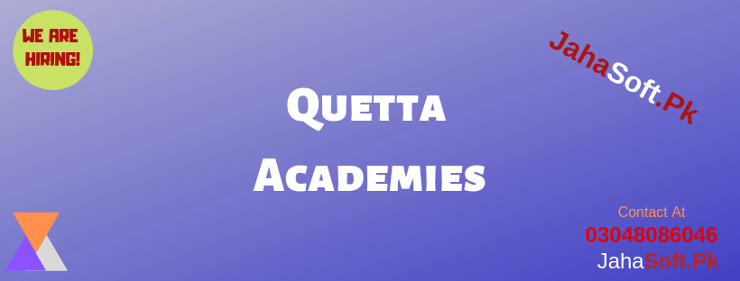 Quetta Academies Academy in Quetta Academy Website Academy Website in Quetta