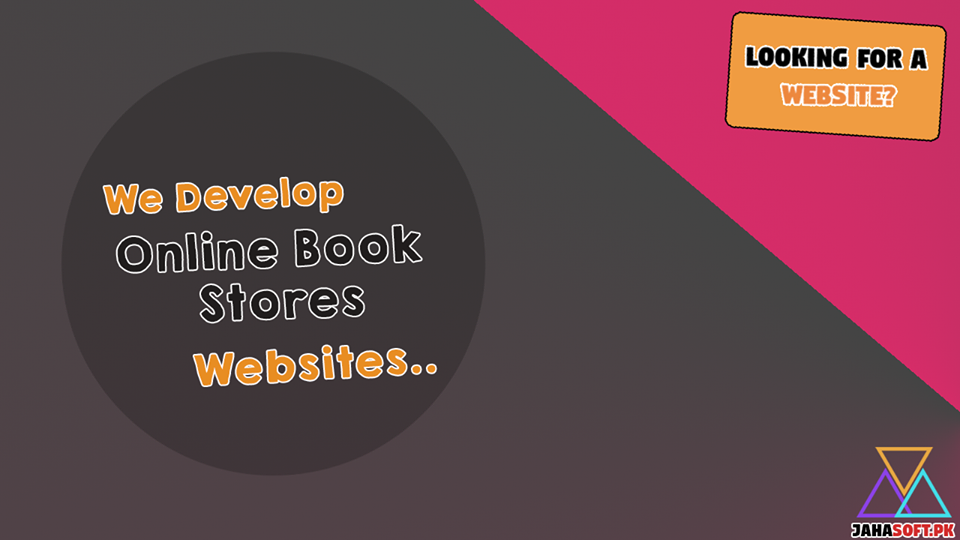 Online BookStore Website Development in Quetta