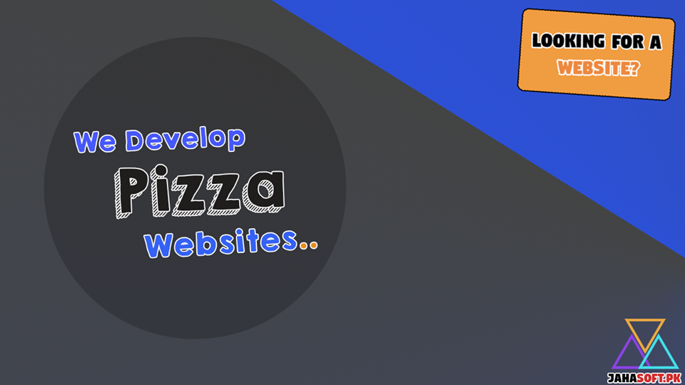 Pizza Website Development in Quetta