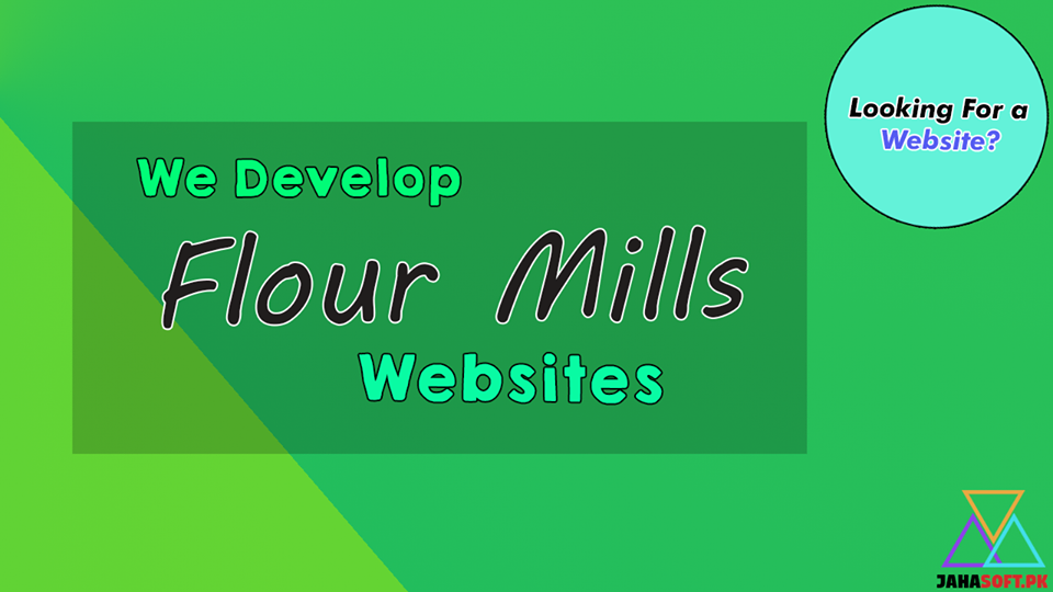 Flour Mills Website Development in Quetta