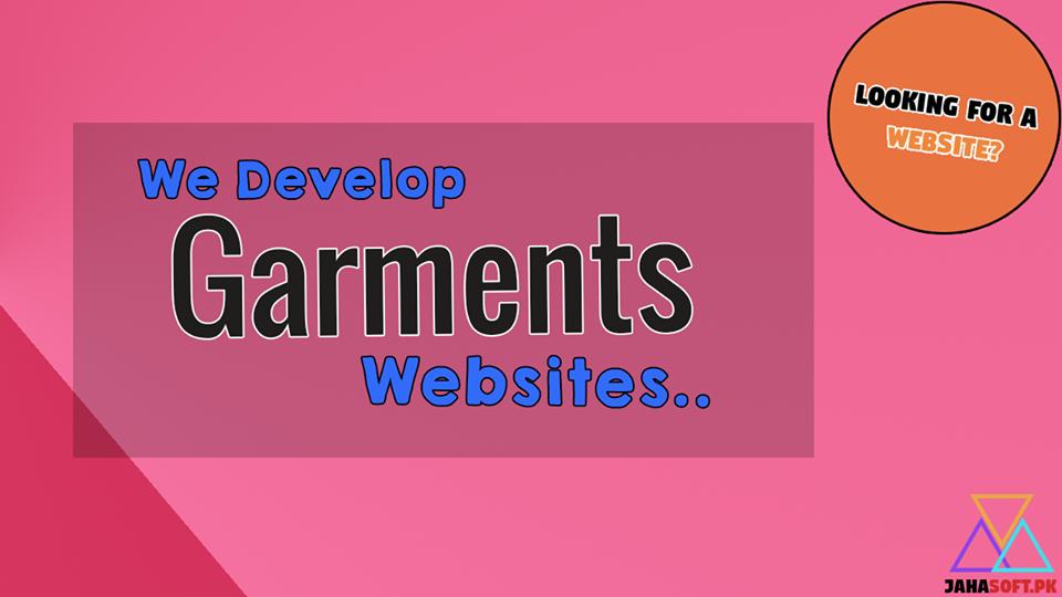 Garments Website Development in Quetta