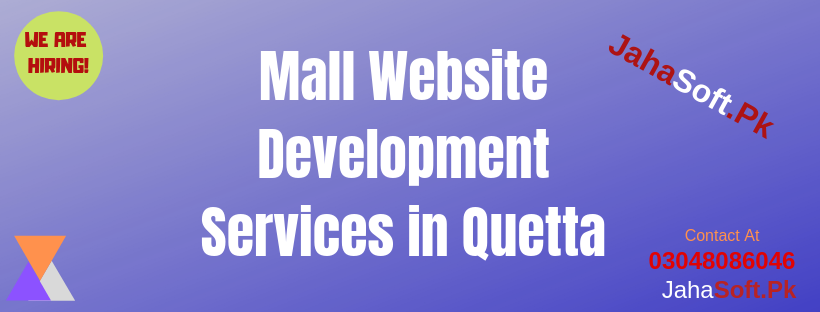 Mall Website Development Services in Quetta