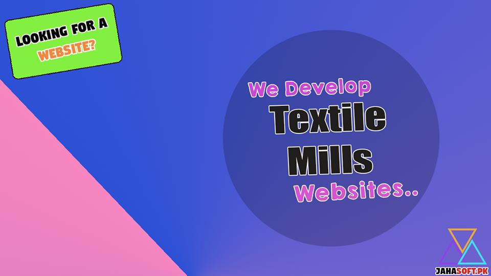 Textile Mills Website Development Services in Quetta