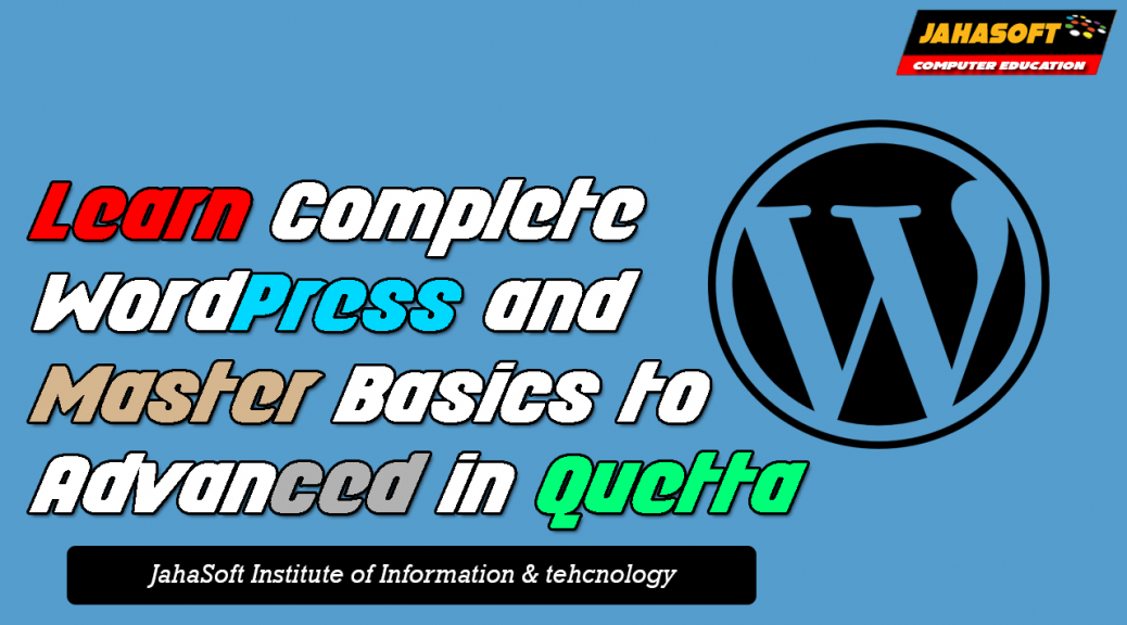 WordPress Course in Quetta