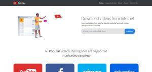 All in one Social Media Video Downloader