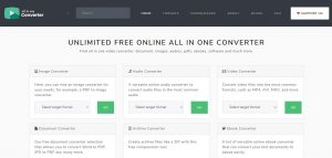 All In One Video Converters with 150+ Conversion Tools Online