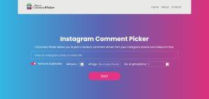 Instagram Comment Picker